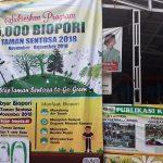 Program Go Green Gebyar 5000 Biopori di Taman Sentosa Cikarang