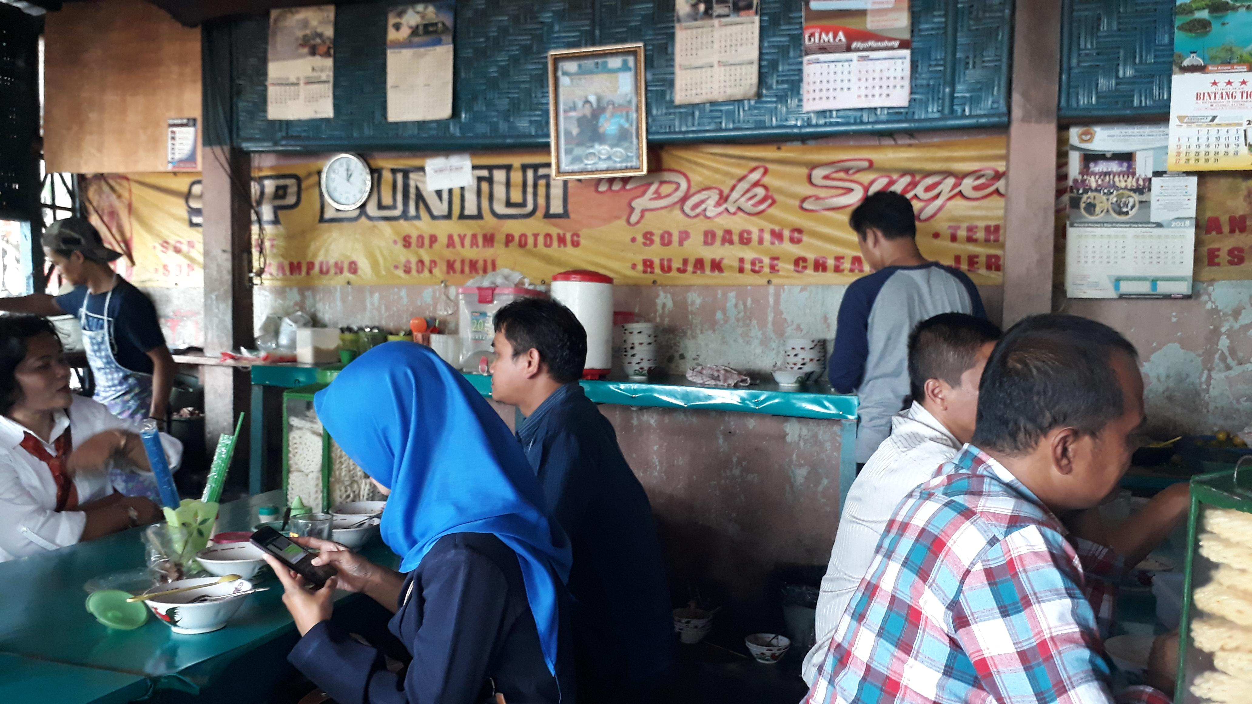 Sop Buntut Pak Sugeng HOS Cokroaminoto Yogyakarta Patut Anda Coba