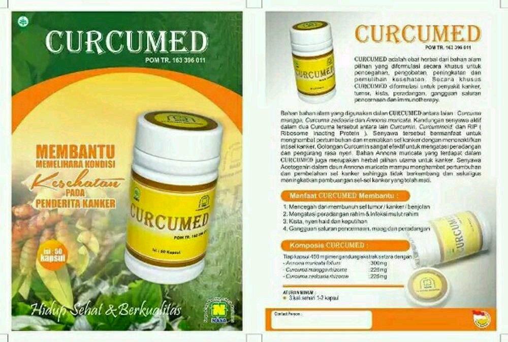 Obat Kanker Serviks Herbal Curcumed Nasa
