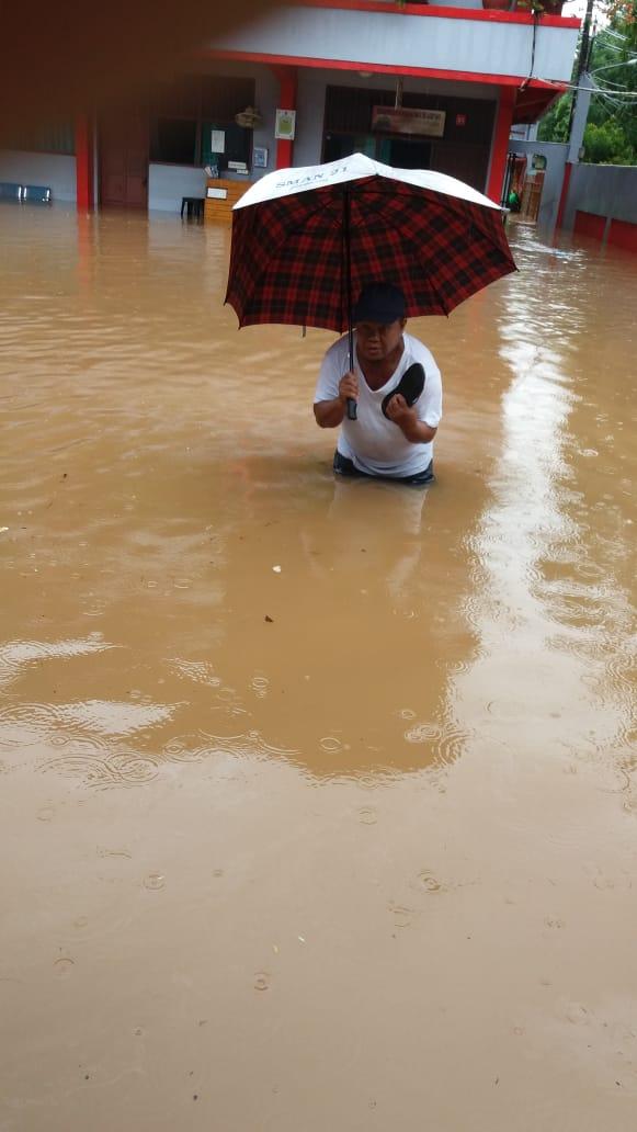 Prediksi BMKG Curah Hujan Intensitas Tinggi Hingga 10 Januari 2020