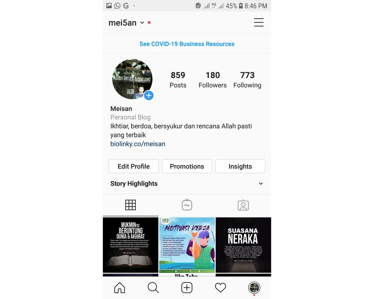 Tips Membuat Akun Instagram Menarik Untuk Dilihat dan Diikuti Netizen