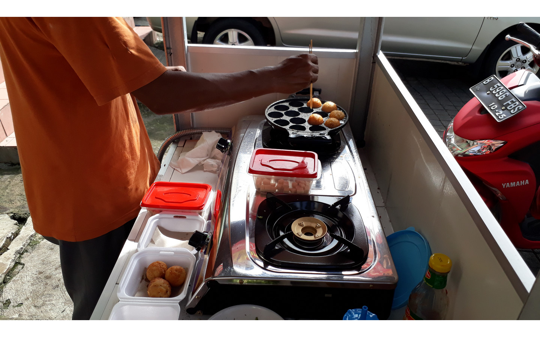 Takoyaki Taman Sentosa Cikarang yang lezat dan Harga Terjangkau