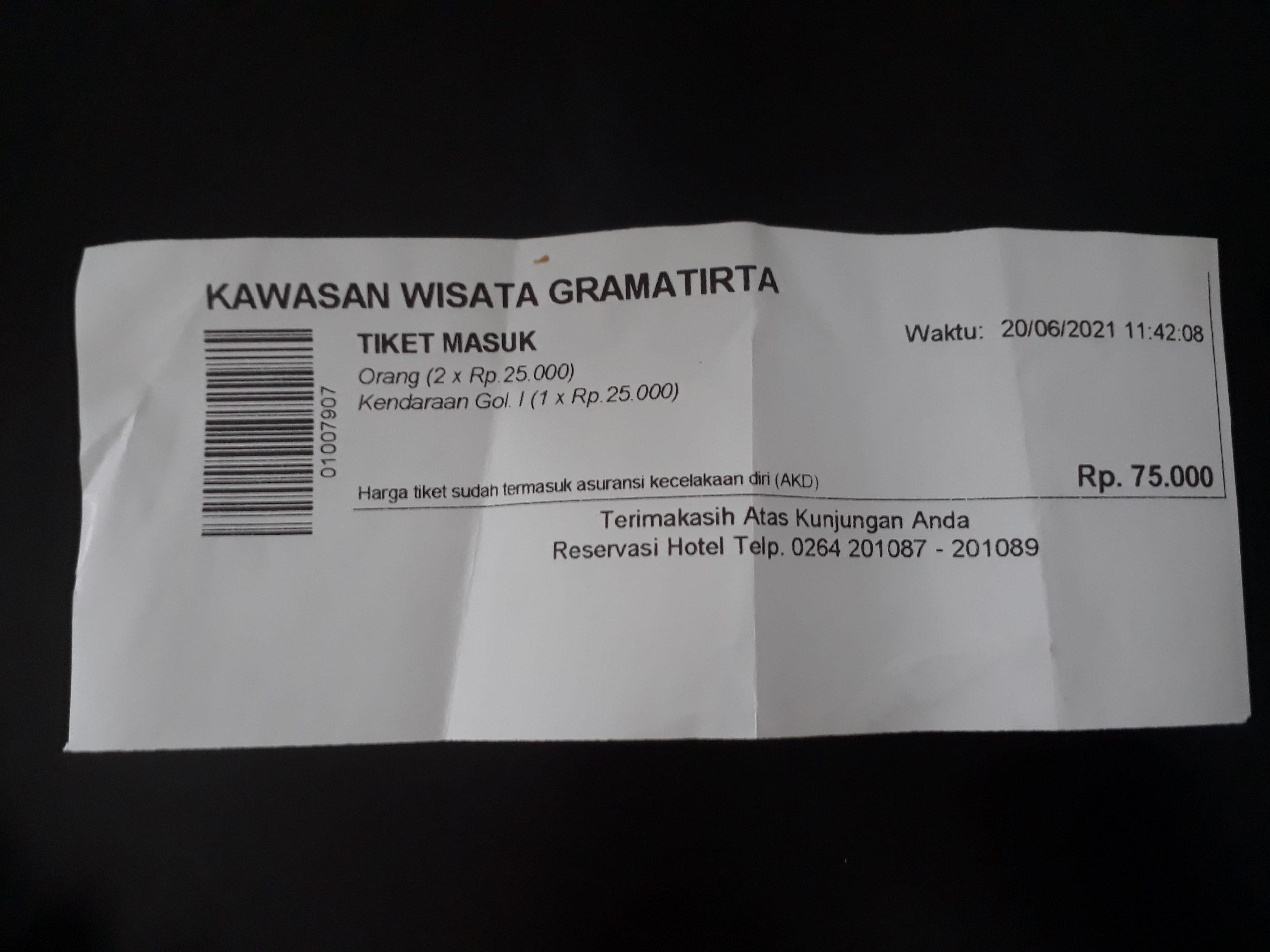 tiket masuk wisata waduk jatiluhur